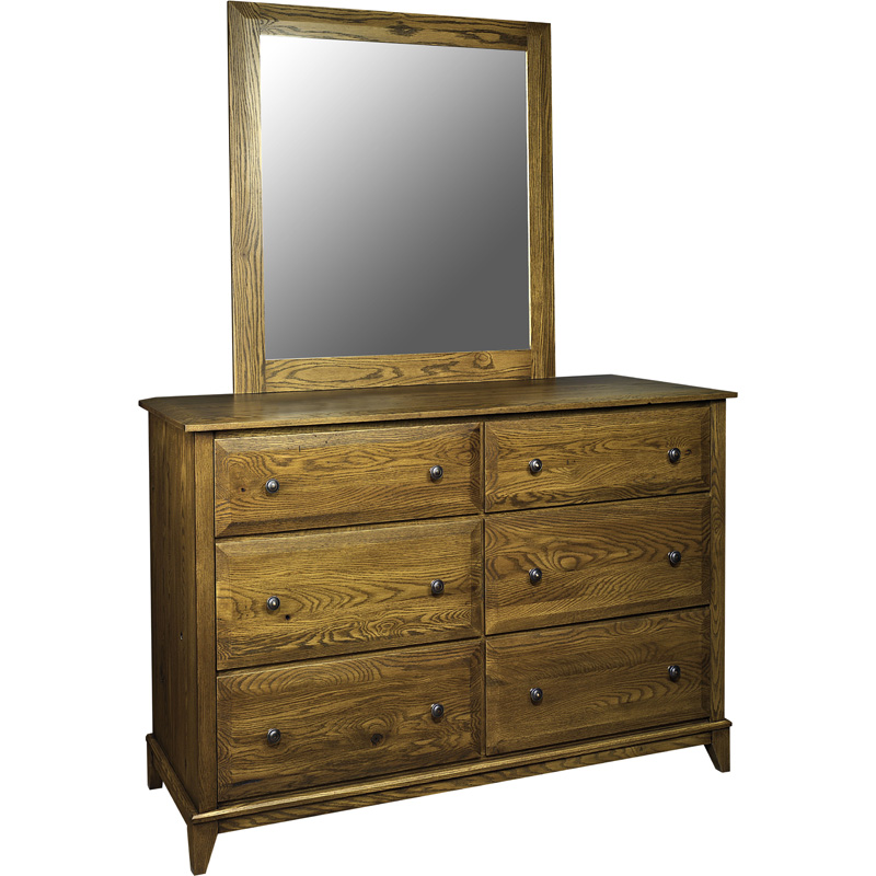 Deluxe Mirror 1015 0111 DM Albany Furniture Made in USA