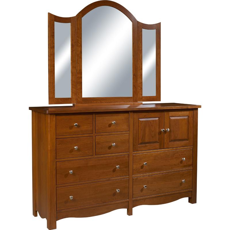 8 Drawer Dresser Blue Ridge Furniture Made In USA Builder06