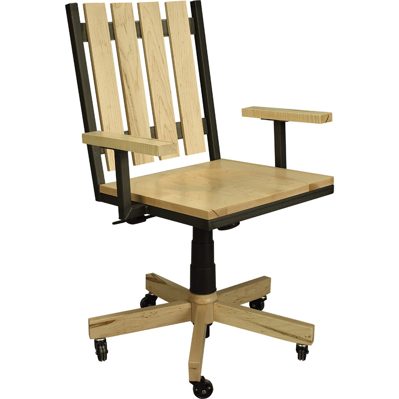 Office Arm Chair 6000 0301OAC Omni Furniture Made In USA Builder06 Outlet Dis