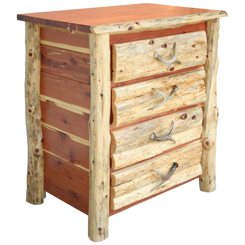 Drawer chest  c red cedar furniture made in
