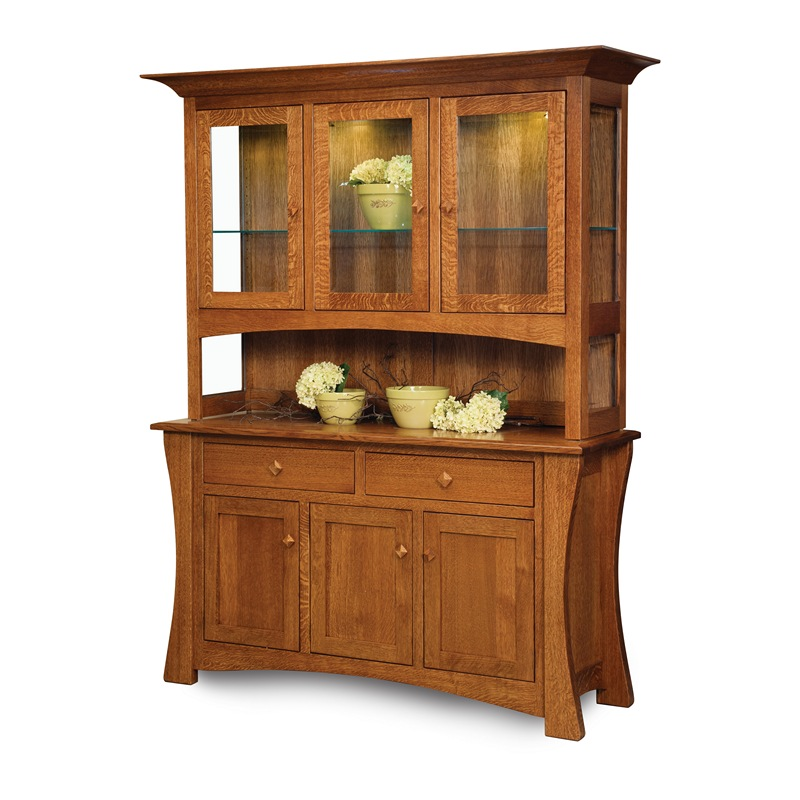 hutch arts and crafts furniture made in usa builder22. Black Bedroom Furniture Sets. Home Design Ideas