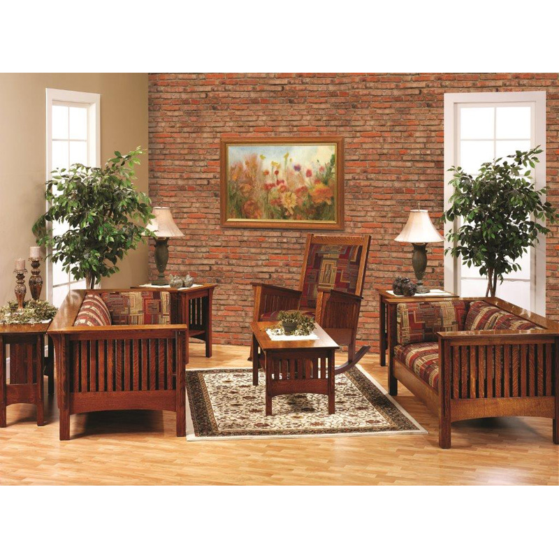 Living Room Collection Mission Furniture Made In USA Builder60 Outlet Discoun