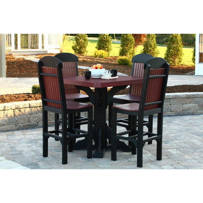 41 inch square table outdoor occasional furniture made in