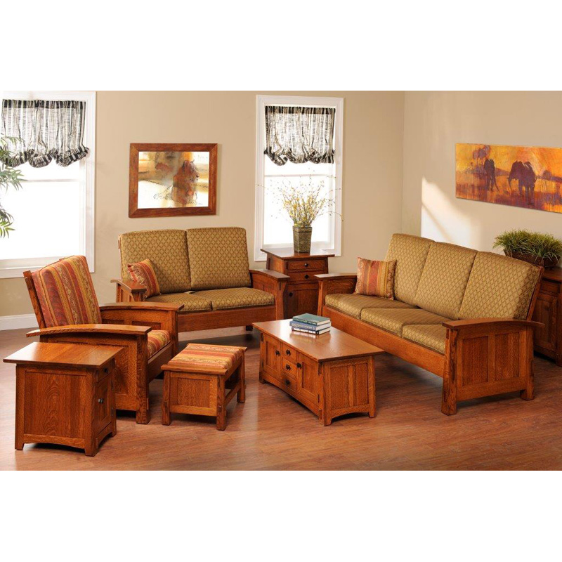 Living room set 5600 old shaker furniture made in usa for Living room furniture sets made in usa