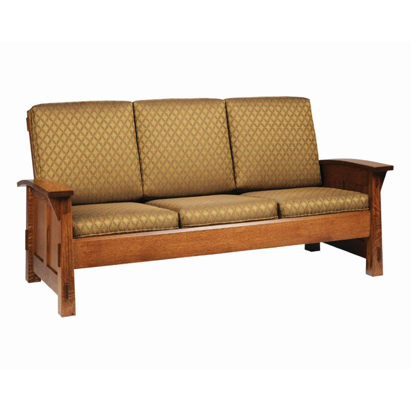 Sofa 5600 old shaker furniture made in usa builder60 for Furniture made in usa