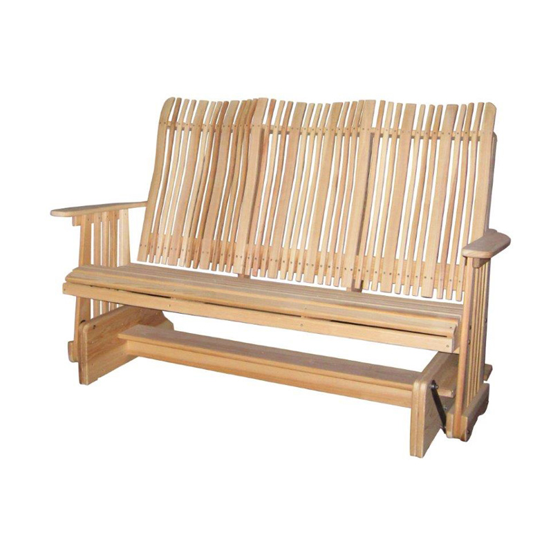 5 Foot Highback Glider Outdoor Occasional Furniture Made In Usa Builder87 Outlet Discount