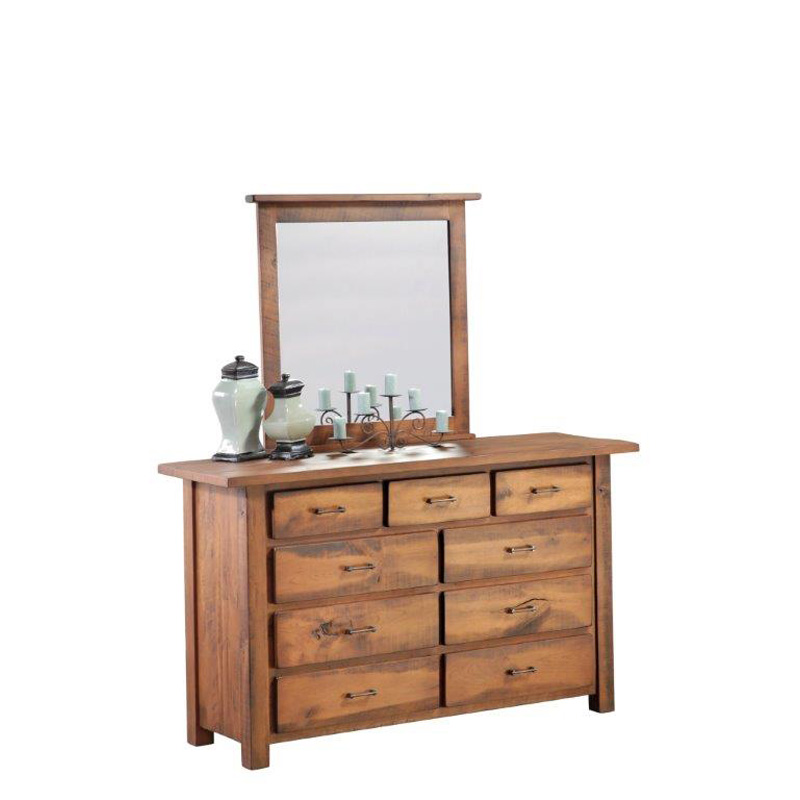 Barrs Mill Dresser And Mirror Sawyer Lane Furniture Made In USA Builder128