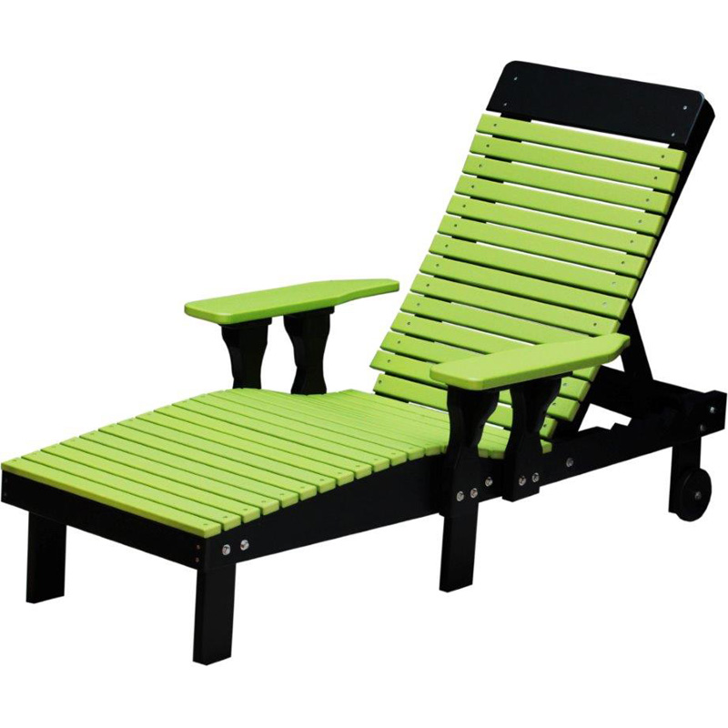 Lounge Chair Lime Green And Black Outdoor Occasional Furniture Made In Usa Builder76 Outlet