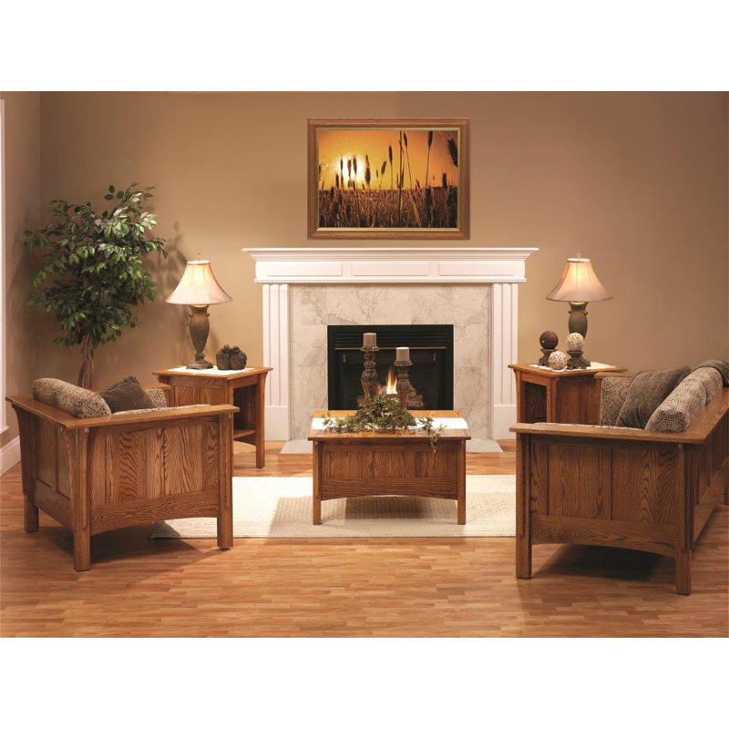 Living room set shaker furniture made in usa builder60 for Living room furniture sets made in usa