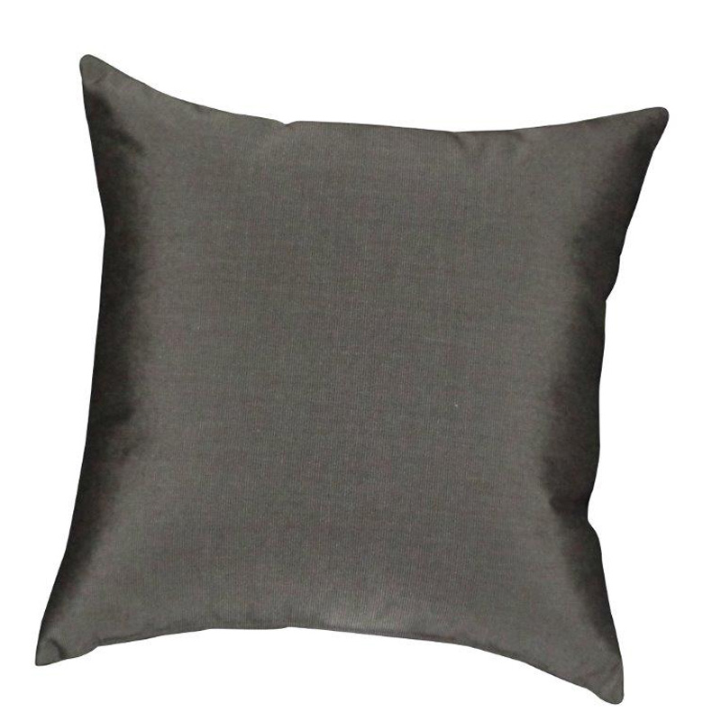 Throw Pillow Canvas Coal Pillows Furniture Made in USA Builder87 Outlet Discount Furniture ...