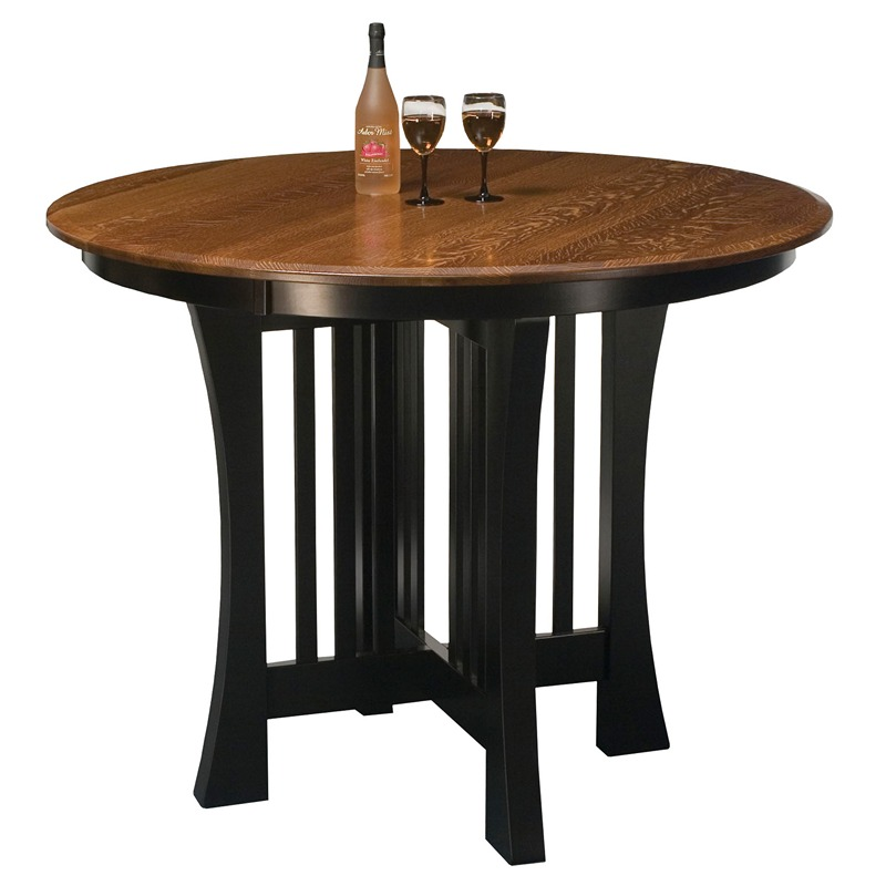 Pub table arts and crafts furniture made in usa builder74 for Arts and crafts furniture makers