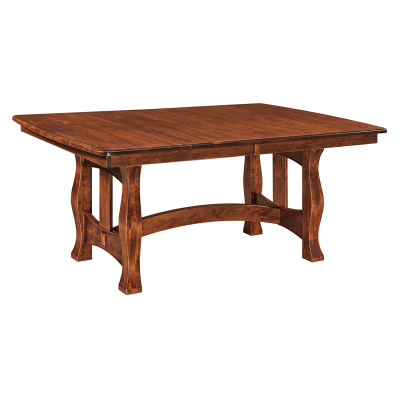 Trestle Dining Table Reno Furniture Made in USA Builder74