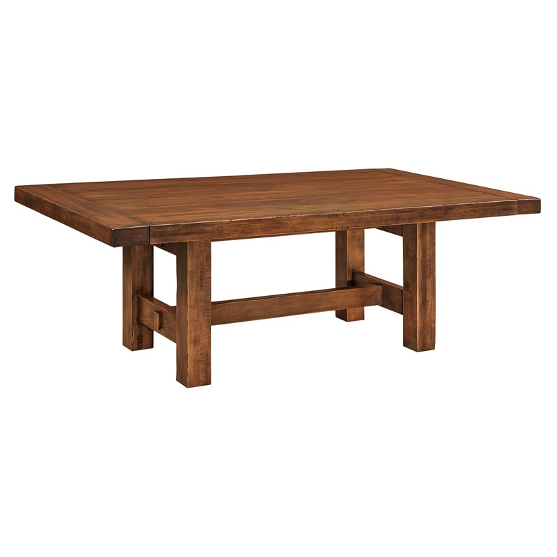 Trestle Dining Table Wellington Furniture Made In Usa Builder74 Outlet Discount Furniture
