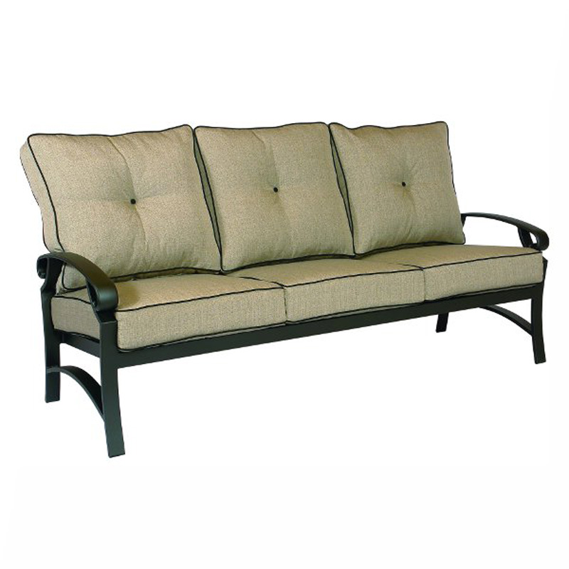 Sofa Monterey Cushion Crimson Casual