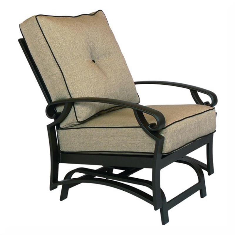 Spring Lounge Chair Monterey Cushion Crimson Casual