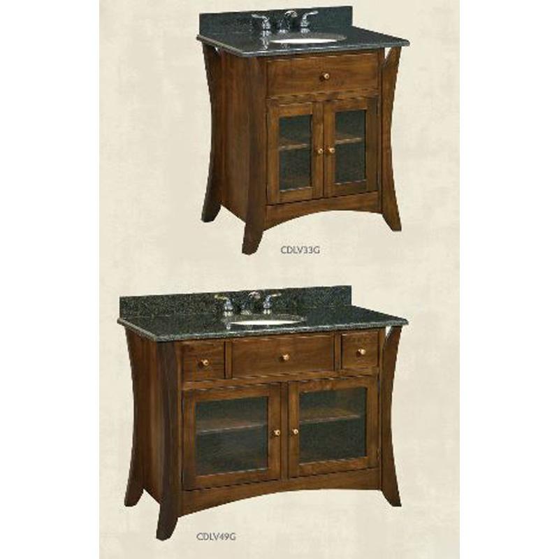 Lavatorie cdlv49g caledonia furniture made in usa for Furniture made in usa