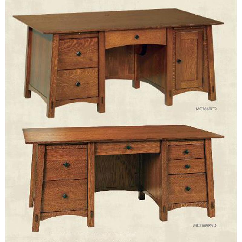 Desk mc3669cd mccoy furniture made in usa builder84 outlet for Furniture made in usa