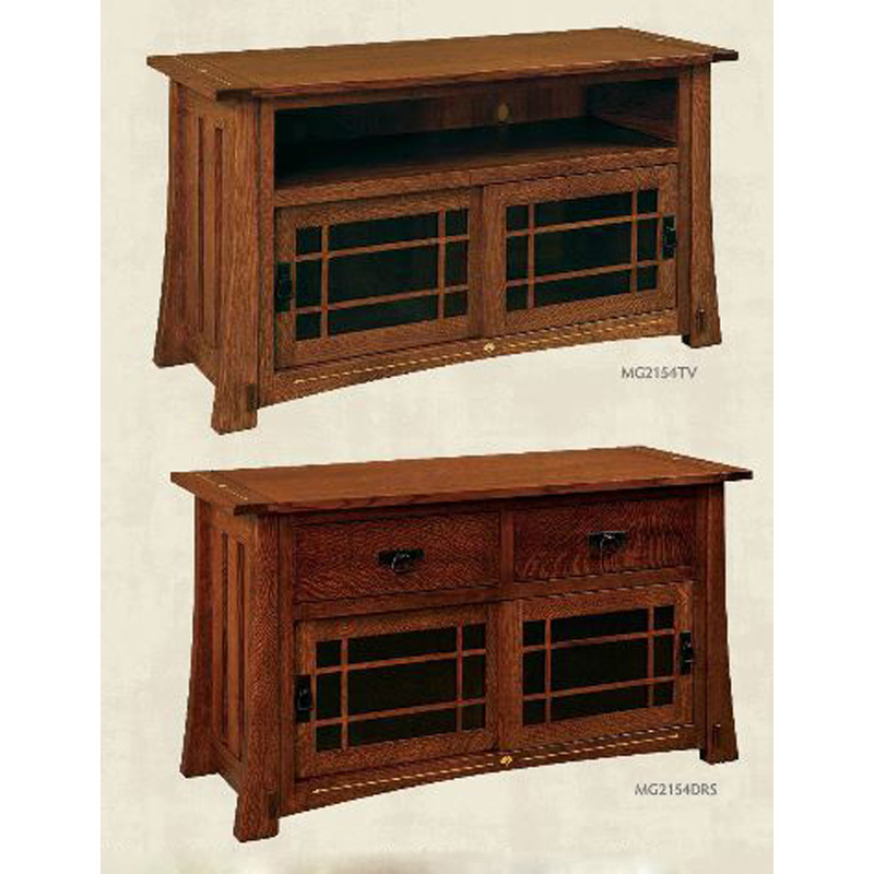 TV Cabinet MG2154TV Morgan Furniture Made in USA Builder84