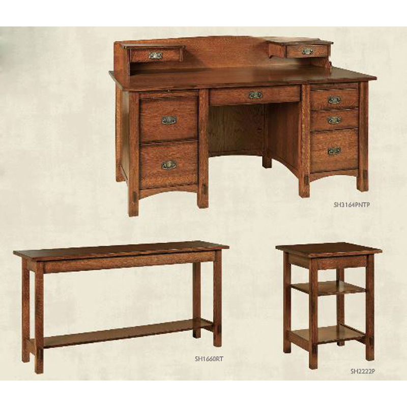 Desk Sh1660rt Springhill Furniture Made In Usa Builder84 Outlet Discount Furniture Selections