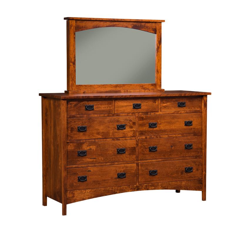 High 9 dresser e s acmh9d arts and crafts furniture made for Arts and crafts furniture makers
