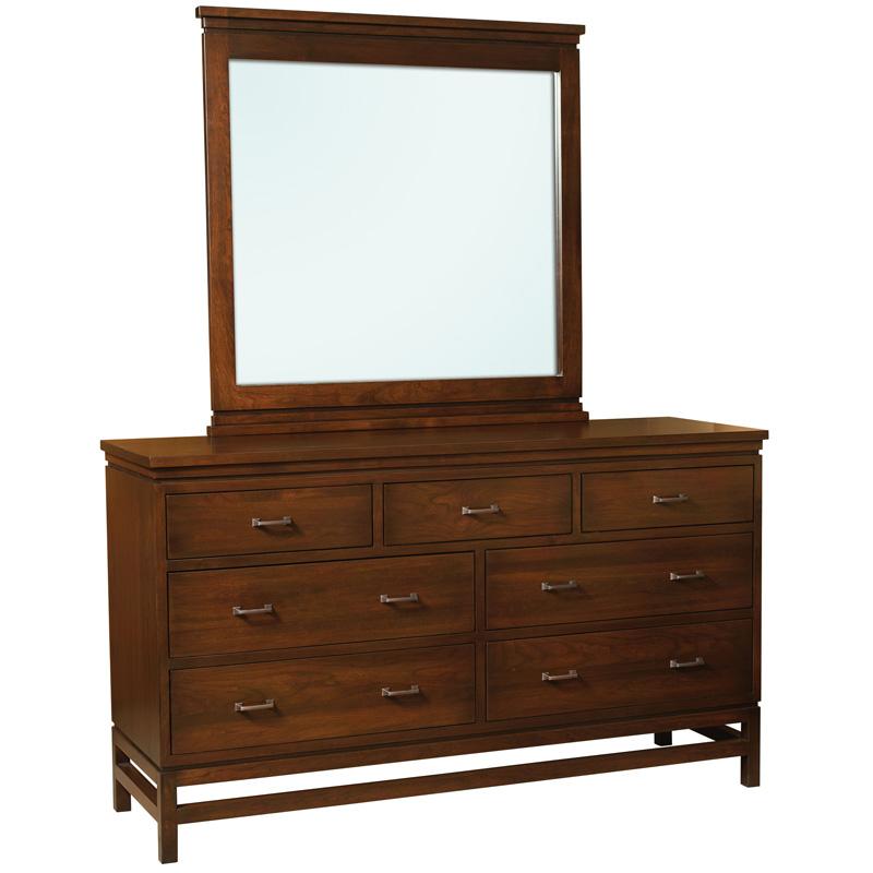 Usa Discount Furniture: 7 Drawer Dresser E&S-LD7D Lynndale Furniture Made In USA