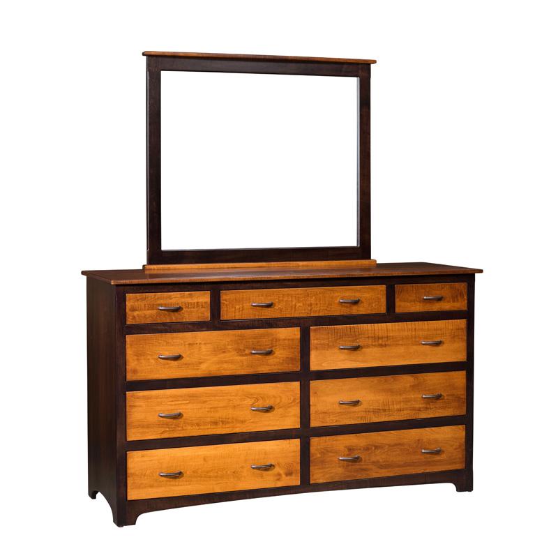 Usa Discount Furniture: High 9 Dresser E&S-MGH9DD Martoga Furniture Made In USA