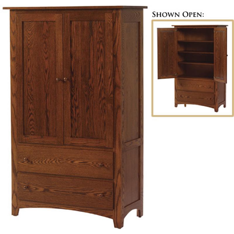 Armoire mf4040am elizabeth lockwood furniture made in usa for Furniture made in usa