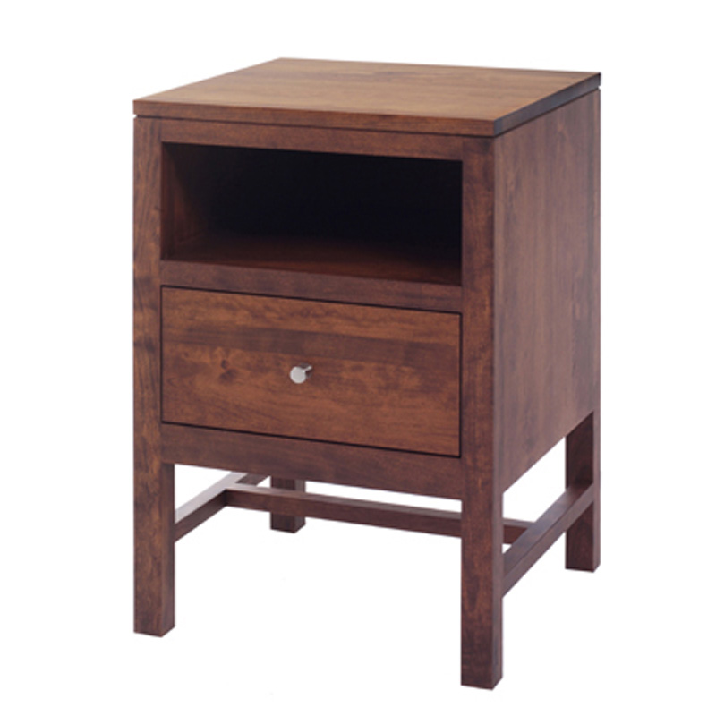 Nightstand mf1020ns lynnwood furniture made in usa for Affordable nightstands