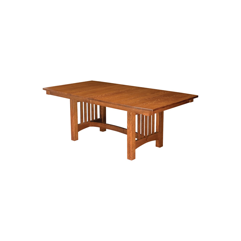 Bellingham Trestle Dining Table Trestle Group Furniture Made In USA  Builder73